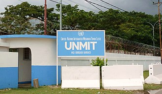 United Nations Integrated Mission in East Timor - UNMIT-HQ in Dili