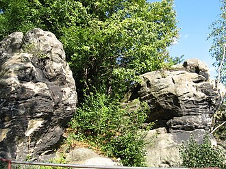 Starachowice - Unique geological denudation - monument to geological features (length- of 400 m, height- 5-8 m)