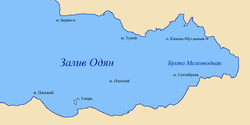 Map of Odyan Bay