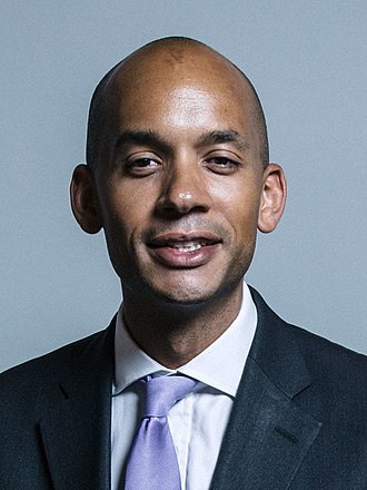 The Independent Group - Image: Official portrait of Chuka Umunna crop 2 (cropped)