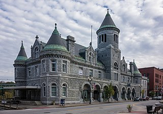 Old Post Office (Augusta, Maine) heritage building in Augusta, Maine, USA