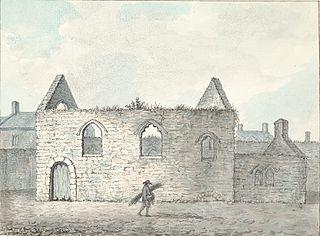 Old chapel in Caernarvon town