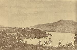 Lake Čepić - Čepić lake in the early 20th century.