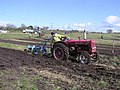 Old tractor ploughing at Garvaghy - geograph.org.uk - 1224967.jpg