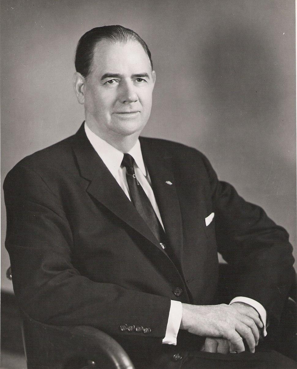 Olin D. Johnston, seated portrait