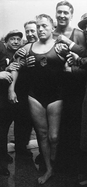 Olivér Halassy - Olivér Halassy at the 1931 European Championships