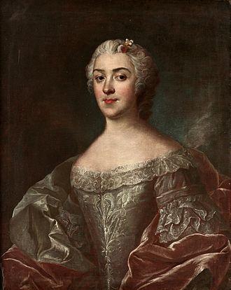 1745 in Sweden - Olof Arenius-Grevinnan Kristina Horn af Åminne