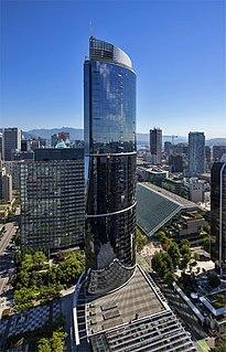 One Wall Centre skyscraper