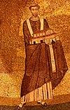 Onorio I - mosaico Santa Agnese fuori le mura.jpg