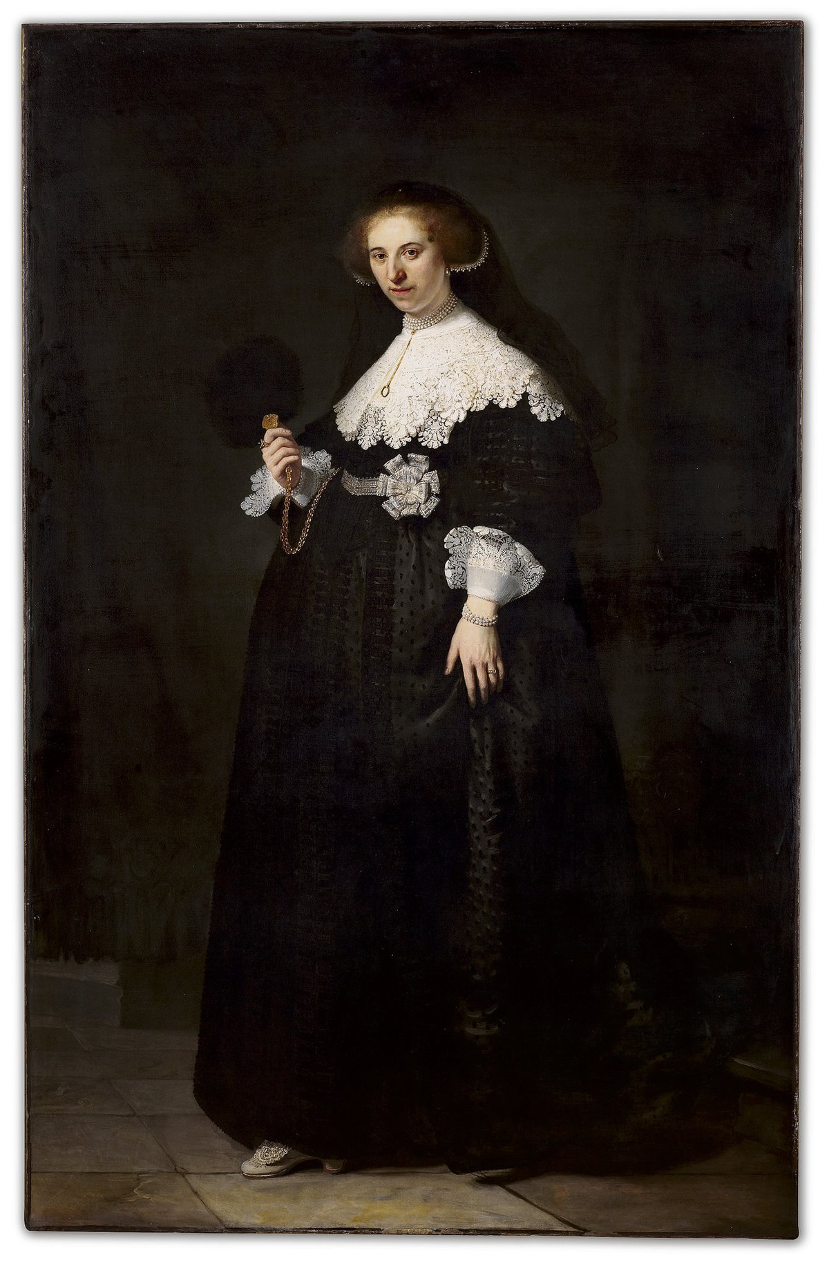 Rembrandt, Portrait of Oopjen Coppit
