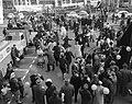 Opening studenten lustrum in Leiden, studenten op Stadhuisplein, Bestanddeelnr 917-3557.jpg