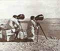Operators using an electro-optical guidance system after launching Luz missiles (1959).jpg