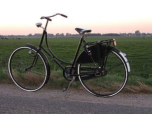 Roadster (bicycle) - The Dutch Omafiets is a ladies' roadster of classic design