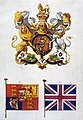 Order in Council, 5th November 1800 – illustrations of the new arms, flag, and standard of the United Kingdom of Great Britain and Ireland (PC 2-157).jpg