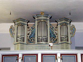 Jesus Church (Berlin-Kaulsdorf) - Organ