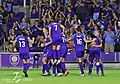 Orlando Pride players celebrate (42305115682).jpg