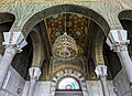 Ornamentations in the Entrance of the Umayyad Mosque - Old Damascus City.jpg