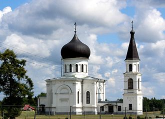 Vievis - An 1843 Eastern Orthodox Church in Vievis