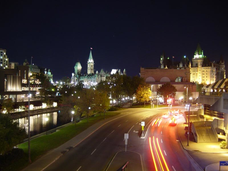 Ottawa from McKenzie King Bridge