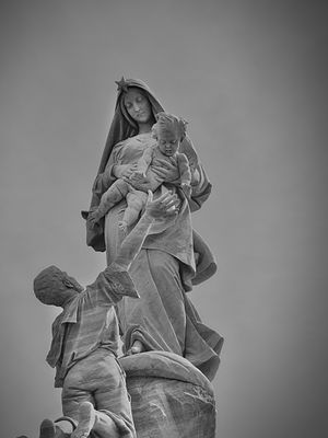 Cyprian Godebski (sculptor) - Image: Our Lady of the Shipwrecked