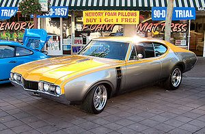 This Oldsmobile 4-4-2 was featured on the TV show Overhaulin'