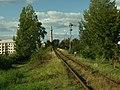 Písek, železniční trať do Tábora II.JPG