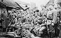 Pększyc-Grudziński między legionistami w Kętach.jpg