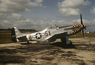 353rd Fighter Group - P-51 Mustang of the 353rd Fighter Group