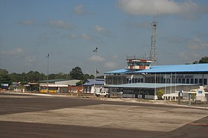 Johan Adolf Pengel International Airport - Image: PBM Airport