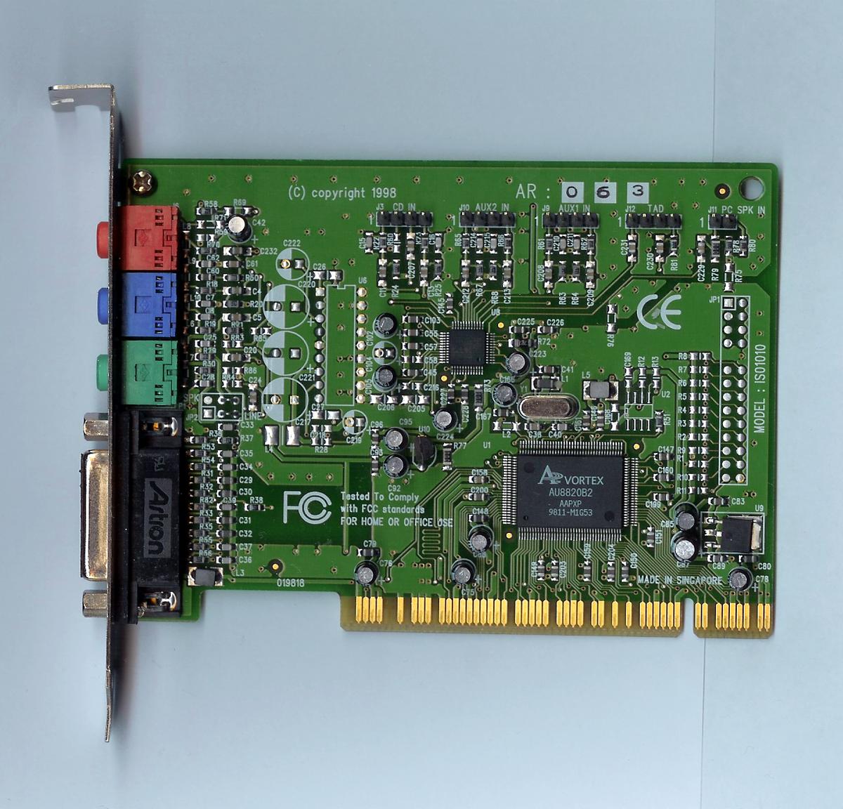 Vortex 8820 download drivers.
