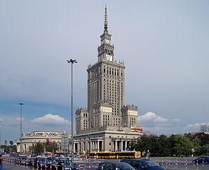 Pa�ac Kultury i Nauki w Warszawie