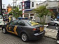 POLRI Mitsubishi Lancer GX squad car in Kuta, Bali.JPG