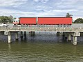 Pacific Motorway bridges over Coomera River in Oxenford, Queensland.jpg