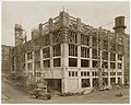 Pacific Net & Twine building under construction, Seattle, circa 1918 (MOHAI 8933).jpg