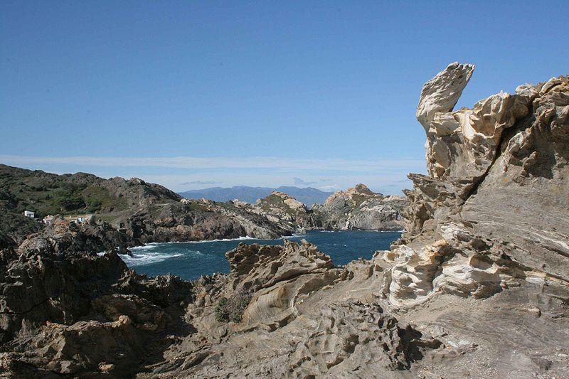 Landscape from Cape Creus in Cadaqués