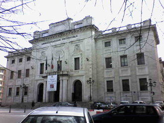 Province of Frosinone - Palazzo Gramsci in Frosinone, the provincial seat.
