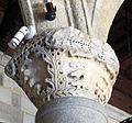 Palazzo dei gran maestri di rodi, sala dei colonnati, capitello 03.JPG