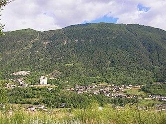 Aymavilles - Image: Panorama Aymavilles