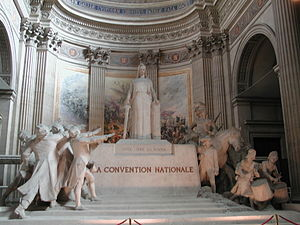 Ministers of the French National Convention - Autel de la Convention nationale by François-Léon Sicard (1913)