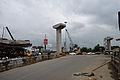Parama-Park Circus Flyover Under Construction - Parama Island - Kolkata 2012-07-31 0551.JPG