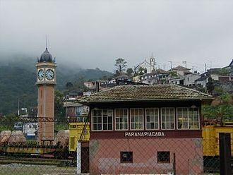 Paranapiacaba - A view of Paranapiacaba village, in Santo André, Brazil.