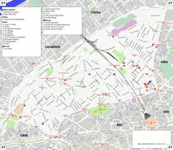xvii arrondissement di parigi wikivoyage guida
