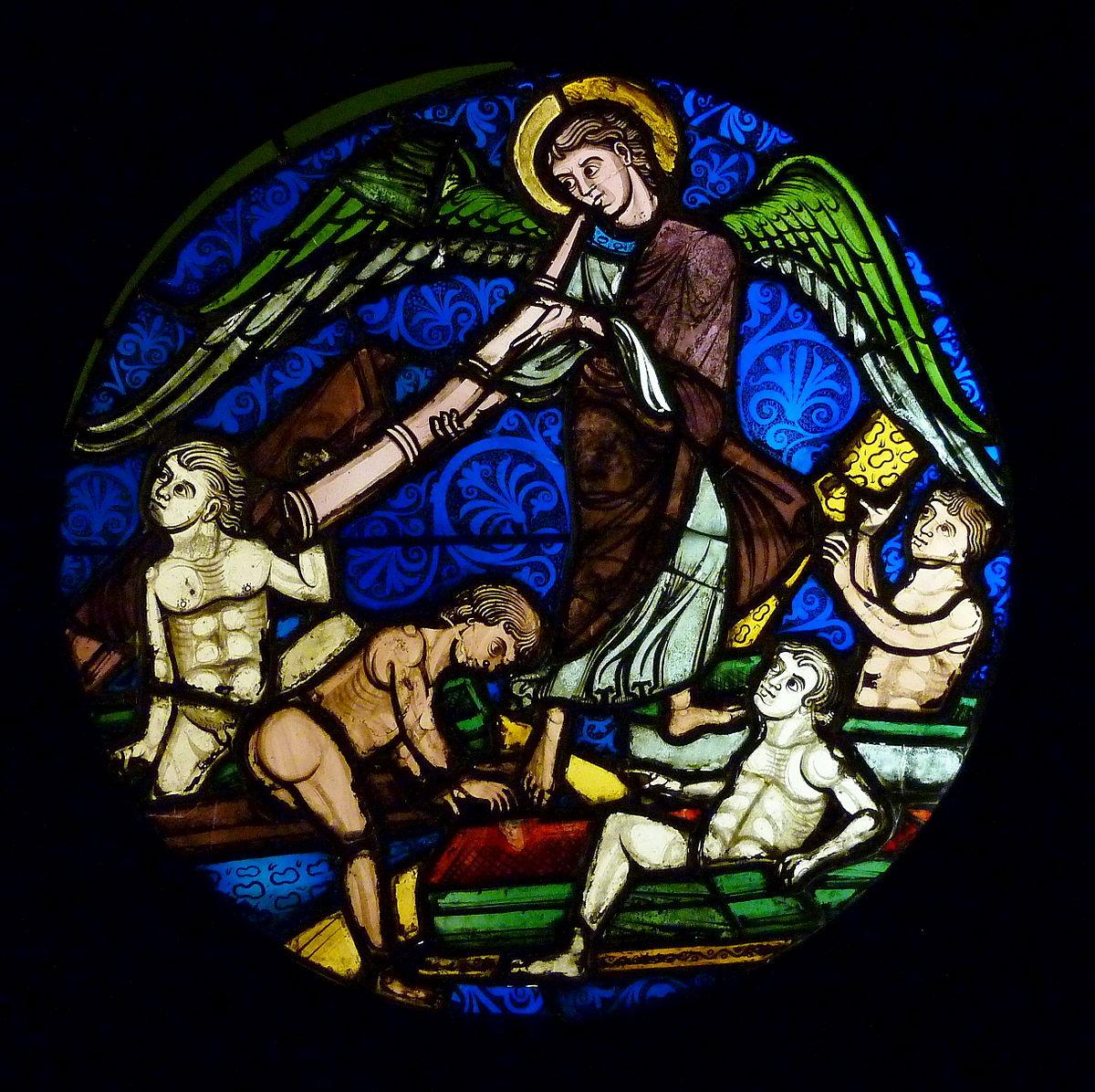 Technique du vitrail au Moyen Âge — Wikipédia