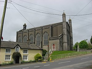 William Edgeworth - Church of Ireland parish church at Collon, founded 1811, on which the Edgeworth family worked.