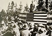 Park Dedication in 1929 in Grand Teton NP-NPS