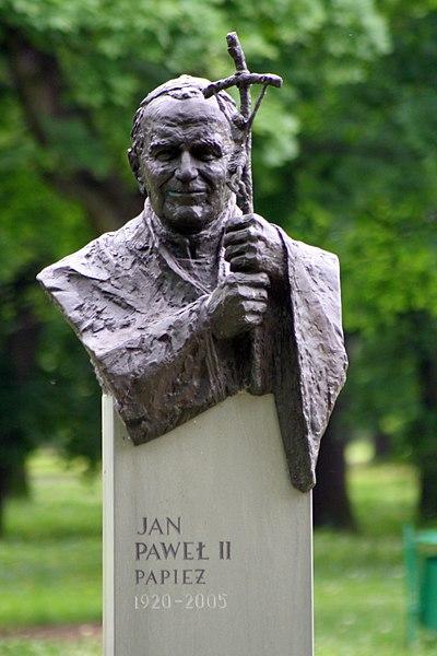 Image:Park Jordana w Krakowie - JPII.JPG