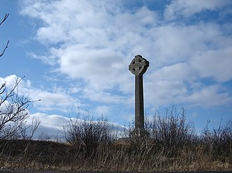 Partridge Island (Saint John County) - The Celtic Cross Memorial on Partridge Island, Canada's Emerald Island.