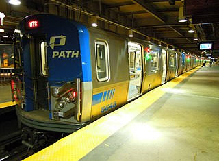 Newark–World Trade Center rapid transit service in New Jersey and New York City