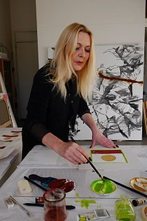 Patricia Erbelding French artist