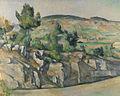 Paul Cézanne - Hillside in Provence.jpg